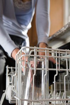 Cleaning Tips and Tricks for the Home - Oprah.comThe fix: First, remove any food you see, and then fill the bottom of the washer with about half a gallon of white vinegar (which seems to have no bounds when it comes to amazing uses). Run the dishwasher (empty) and the smell should go away.  Read more: http://www.oprah.com/home/Cleaning-Tips-and-Tricks-for-the-Home#ixzz2t2zNEC6J