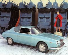 1963 Lancia Flavia SPORT Zagato