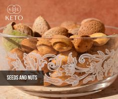 """Tips for beginners: """"C.A.R.B.O.H.Y.D.R.A.T.E.S."""" that you can eat on the keto diet Food item 13: S stands for Seeds & Nuts. Comment below any other keto compliant food beginning with S. You can also get more keto tips by following our page the KDL Keto Facebook Page https://web.facebook.com/KDLKeto/ and connect with other keto practitioners by joining the KDL Keto Group https://web.facebook.com/groups/kdlketo/?ref=br_rs."""