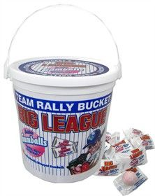 Stock your #Little #League #concession #stand with treats the kids will love. This bucket of Big League Chew Gumballs will be a home run with your little sluggers.  $8.95  http://www.blaircandy.com/big-league-chew-gumballs.html