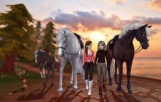 Star Stable is a horse game online filled with adventures. Ride and take care of your own horses and explore the exciting island of Jorvik. Horse Drawings, Animal Drawings, Cute Drawings, Cute Horses, Beautiful Horses, Star Stable Horses, Horse Games, Horse Wallpaper, Horse Videos