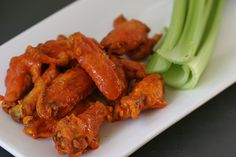 Hot Wings - Click for Recipe