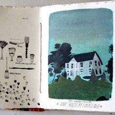 sketchbook. becca stadtlander.