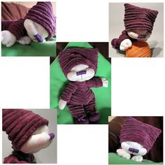 HANDMADOWO: Śliweczka Dolls, Handmade, Ideas, Baby Dolls, Hand Made, Puppet, Doll, Thoughts, Baby