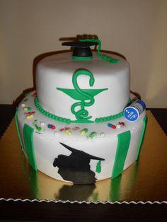 Pharmacy graduation cake