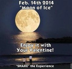 valentine full moon 2014