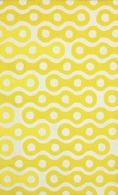 Rugs USA Homespun HK95 Yellow Rug