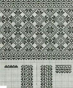 Knitting Charts, Knitting Stitches, Knitting Patterns, Cross Stitch Charts, Cross Stitch Designs, Cross Stitch Patterns, Cross Stitching, Cross Stitch Embroidery, Embroidery Patterns
