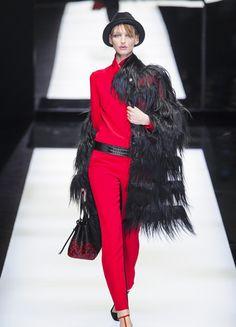 Giorgio Armani – Fashion Week Mailand H/W 2017/18 | ELLE