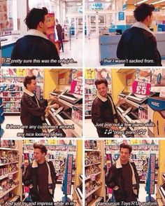 Omg i have this movie and i laugh at this part because i think now Louis is being the flirt