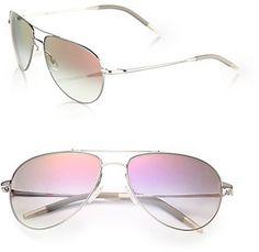 Benedict 59MM Aviator Sunglasses