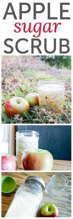 Apple Sugar Scrub ~