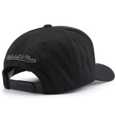 big sale 91d13 996ce Mitchell   Ness Mono Melange 110 Snapback Houston Rockets - Black