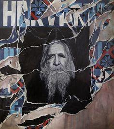 "Pedro Matos ""Portrait of a Monarch""  Oil on Canvas 2011"