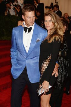 The Met Gala's finest couple Gisele Bundchen and Tom Brady