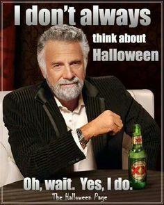 Always think about Halloween