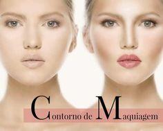 Aprenda a fazer contorno de maquiagem