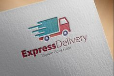 Express Delivery Logo by samedia on Creative Market