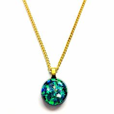 Beautiful small pendant necklace! #star #necklace #jewelry #gold #accessories