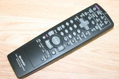 NEW TV/VCR REPLACEMENT REMOTE SHARP RRMCG1236AJSB Control for Video Cassette Recorder by Sharp. $11.95. NEW FACTORY TV/VCR REPLACEMENT REMOTE SHARP RRMCG1236AJSB Control for Video Cassette Recorder