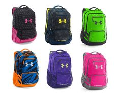Under Armour Storm Hustle II Backpack 1263964 Multiple Sizes & Colors #UnderArmour #Backpack