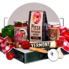 Gourmet Pizza Making Gift Basket  $79.99