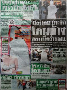 Photomontage Newspaper