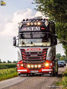Scania Truck - LKW - Brummi - Trucker: