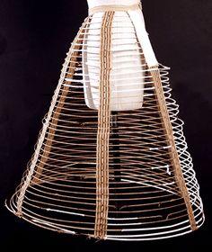 hoop skirt [Photo Credit: Metropolitan Museum of Art Gallery Collection, www.metmuseum.org]