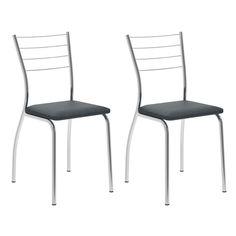 Conjunto 2 Cadeiras de Cozinha 1700 Jeans - Cadeiras  no Pontofrio.com