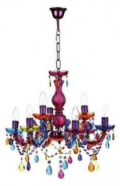 Multi Color Decorative Crystal Chandelier 808 6 Colorful Lighting Product On Alibaba