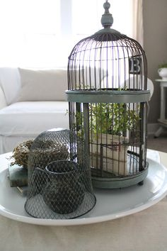 12th and White: Vintage Find: Bird Cages