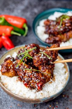 Takeout at home! Serve this Chinese Crispy Chicken with Honey Garlic Sauce on game day as an appetizer, or add rice and some stir-fry veggies to turn it into a full meal.
