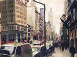 WaterColor New York by Georgi Dimov, the watercolor painter of Manhattan, New York.