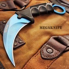 CSGO KARAMBIT HAWKBILL CLAW LIMITED EDITION BLUE FADE - MEGAKNIFE
