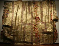 WOW African Artist El Anatsui | Ghanian artist El Anatsui's wall hanging, emperor's coat, landscape ...
