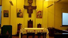 Chapel inside St Anthony of Padua Istanbul.