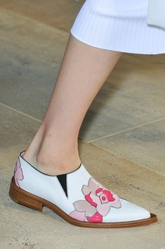 BEST SHOES NYFW Spring 2015- Floral Oxfords