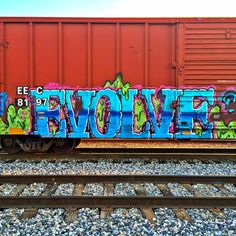 Train graffiti Street Mural, Street Art Graffiti, Banksy, Graffiti Bedroom, Graffiti Wildstyle, Graffiti Tagging, Train Art, Subway Art, Outdoor Art