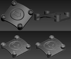 FAQ: Как у модели дем формы? Практические мини-Tuts для механической SUB-D АКА Добавить еще GEO - Страница 133 - Polycount форума