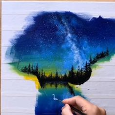 Wow Art, Cool Art Drawings, Diy Canvas Art, Beginner Painting, Amazing Art, Amazing Paintings, Creative Art, Art Projects, Harry Potter