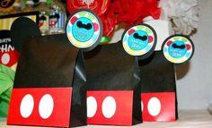 Bolsas de dulces Mickey Mouse Birthday Party