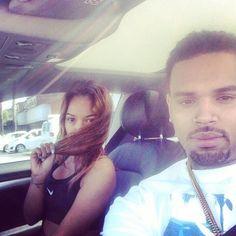 Chris Brown and Karrueche Tran
