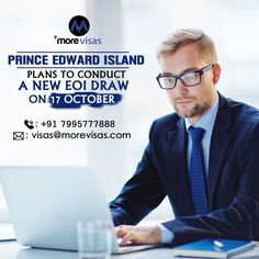 Prince Edward Island immigration will attend the latest draw by the province's EOI system on 17 October