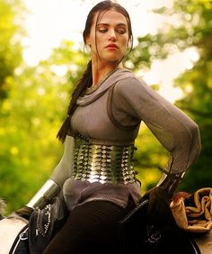 Don't know how you armor is going to fully protect you with it just around your waist, but it sure looks bad ass.