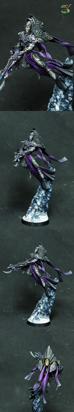 Warhammer 40k, Forgeworld Eldar - Iryllith, Phoenix Lord of the Shadow Spectres Aspect warriors