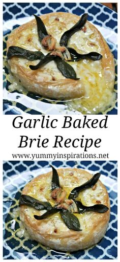 Garlic Baked Brie Recipe – Easy Low Carb Keto Cheese Appetizers Recipes. You could use Camembert if you prefer for this savoury cheese recipe. Perfect for a keto cheese board! Brie Cheese Recipes, Baked Brie Recipes, Keto Cheese, Paleo Recipes Easy, Real Food Recipes, Baked Cheese, Drink Recipes, Low Carb Appetizers, Cheese Appetizers