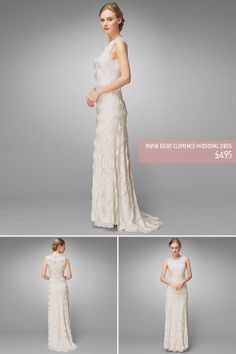 Affordable, Elegant Wedding Dresses For Brides On A Budget, From Phase Eight...