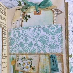 Sari silk ribbons used to embellish gorgeous Junk Journals made by Angela of AngelaKerrDesigns Ribbon Yarn, Silk Ribbon, Sari Silk, Textile Art, Cute Dogs, Embellishments, Decorative Boxes, Unique Jewelry, Handmade Gifts