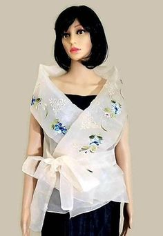 Barong Tagalog, Blouse Wrap, Modern Filipiniana Dress, Philippines, Under Dress, Linen Dresses, Embroidered Silk, Silk Dress, Costumes